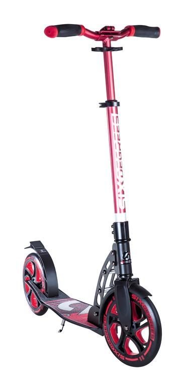Six Degrees Scooter Al RS červená/černá