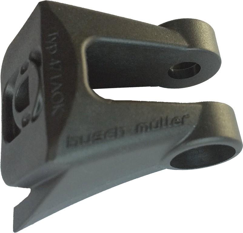 Držák svetlometu b&m pro upev.na vidlici cerná p.Suntour NCX-E45, NCX-E25
