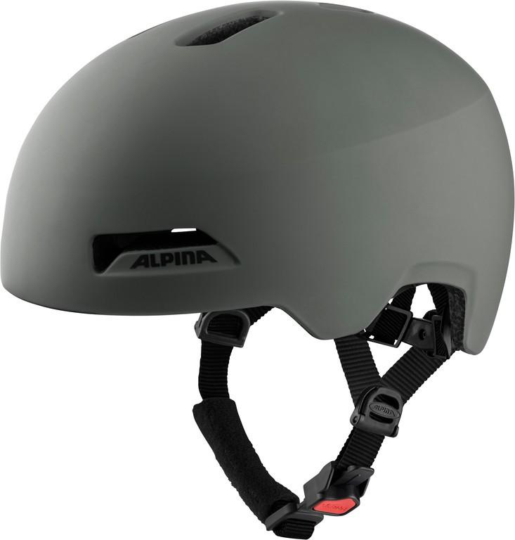 Cykl.helma Alpina Haarlem káva šedá mat. vel.52-57cm