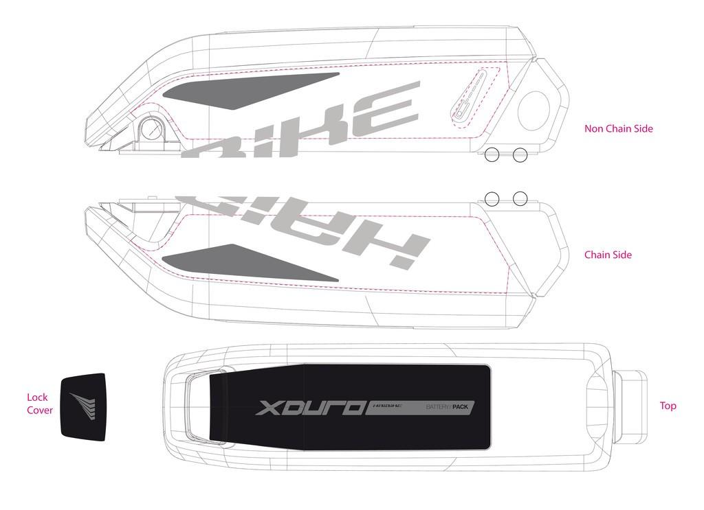 Haibike Xduro pro baterii 2015 šedá/tmavě šedá