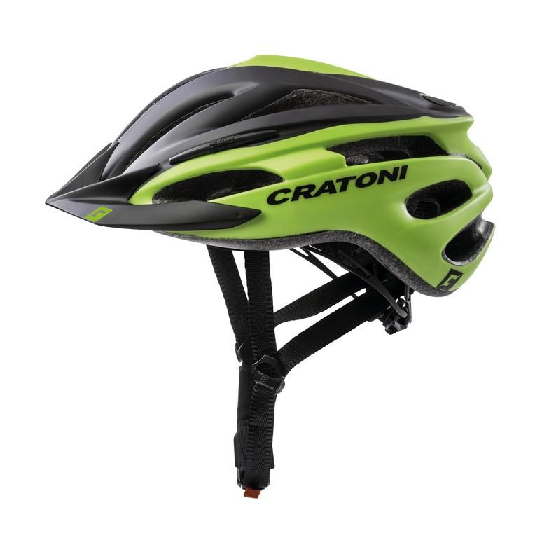 Cykl.helma Cratoni Pacer (MTB), vel.XS/S (49-55cm) cerná/lime matná