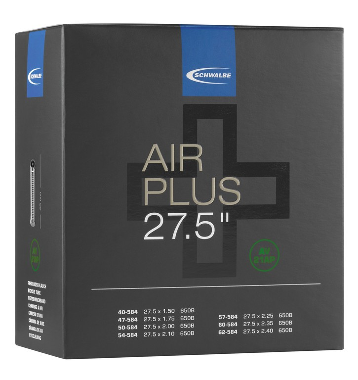 Duše Schwalbe AV 21 AP Air Plus, 27.5x1.50-2.25 40/62-584 IB AGV 40mm