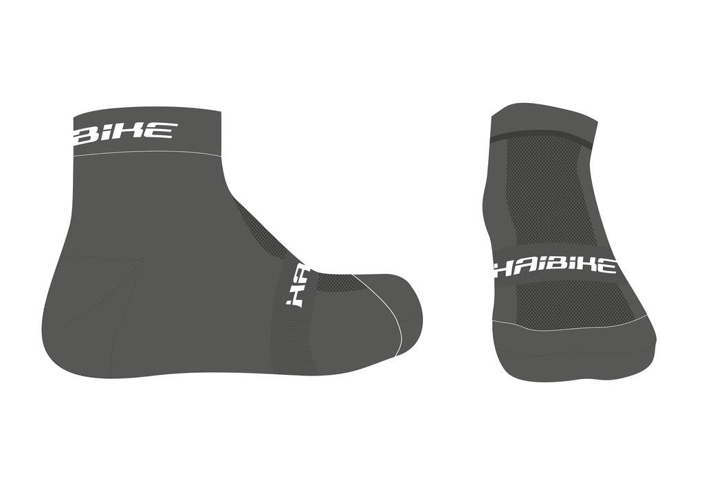 Ponožky Haibike FELIPP,šedá, velikost 38-42