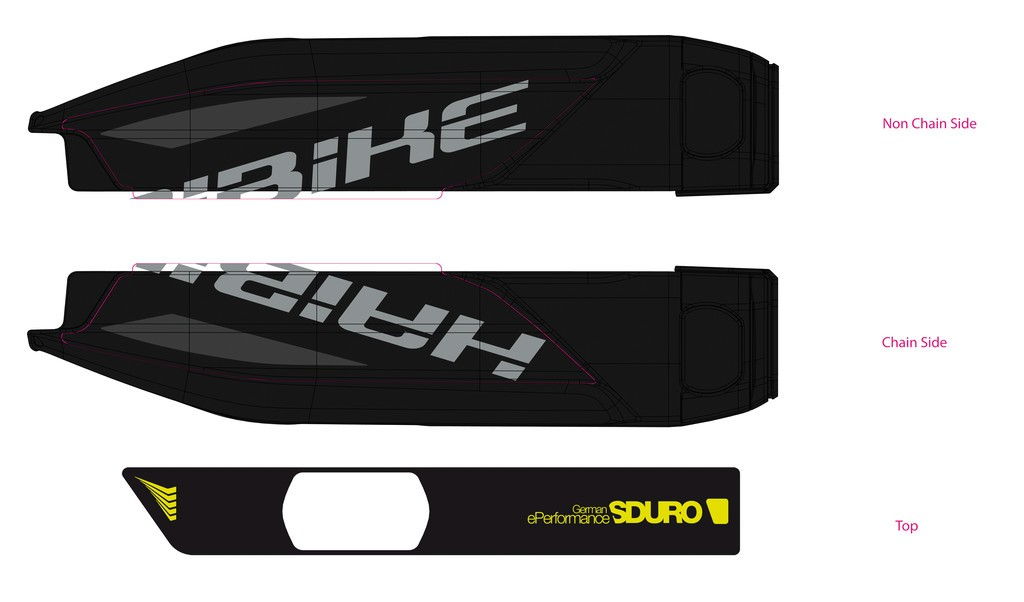 Haibike Sduro pro baterii Yamaha 2017 černá/lime/antracitová