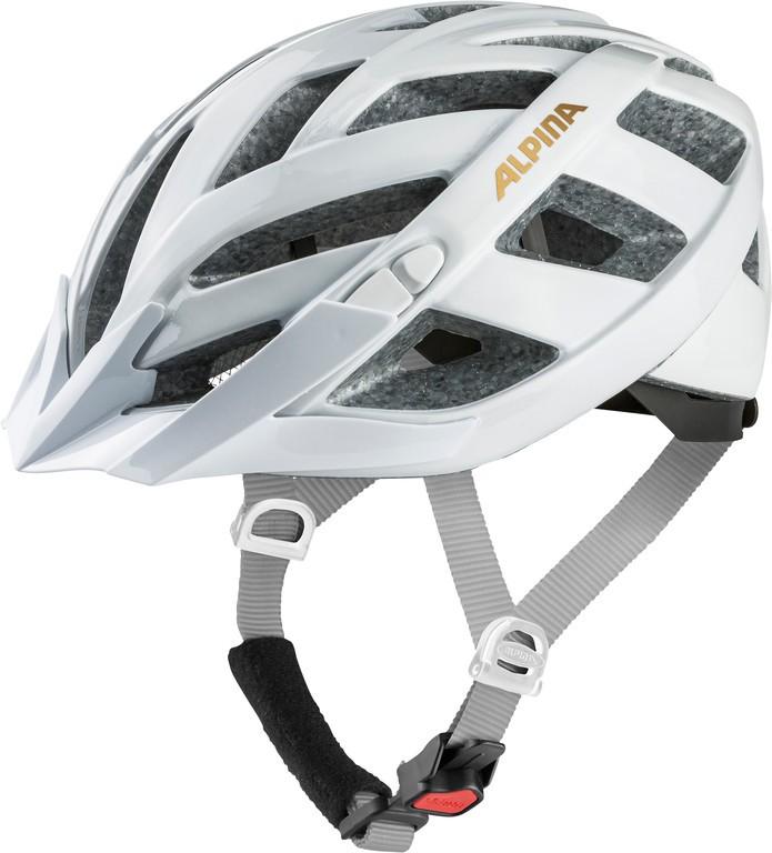 Cyklistická helma Alpina Panoma Classic, white-prosecco vel.52-57