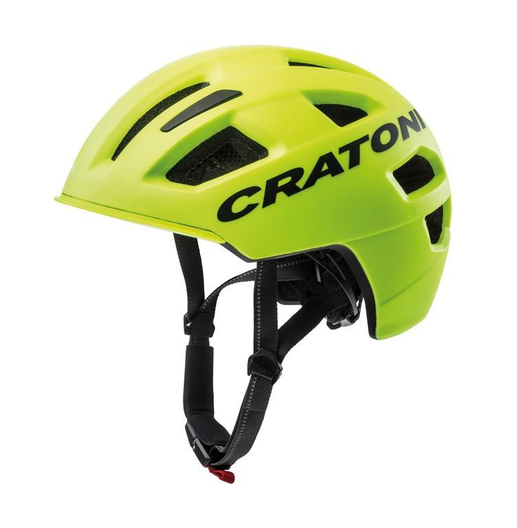 Cratoni C-Pure (City), Vel. S/M (54-58cm) neon.žl.mat.