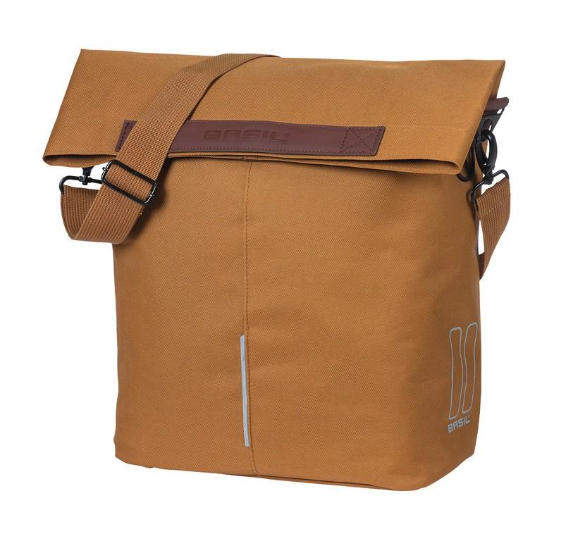 Nákupní taška Basil City velbl.hnedá, Hook On-System, 30x18x49cm