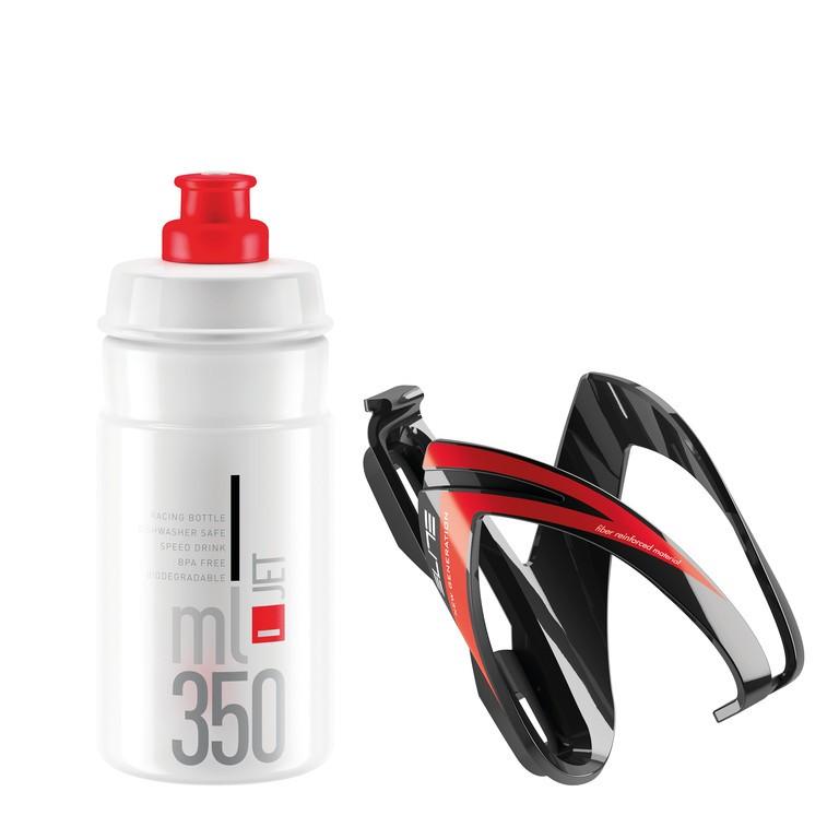 Elite Kit Ceo 350 ml čirá/červená/černá