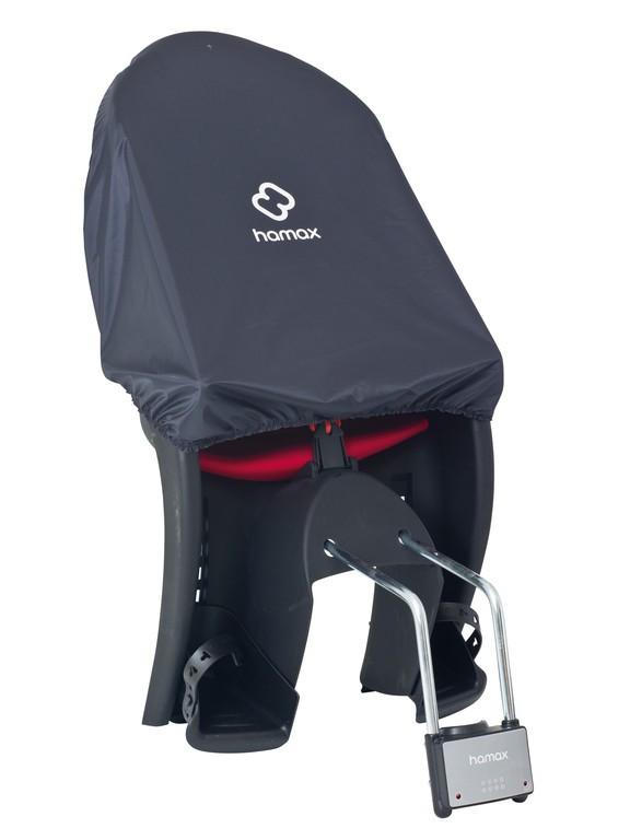 Ochrana proti dešti Hamax, šedá, chrání sedacku Hamax