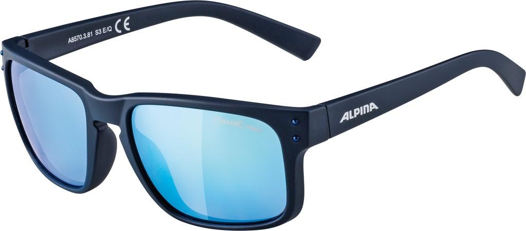 Slunecní brýle Alpina Kosmic, Obroucky modrá matnáSkla modrá zrcadl.S3