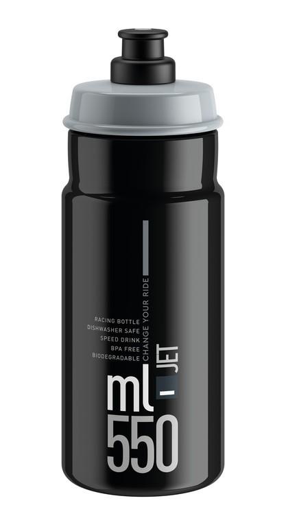 Elite Jet 550 ml černá/šedá