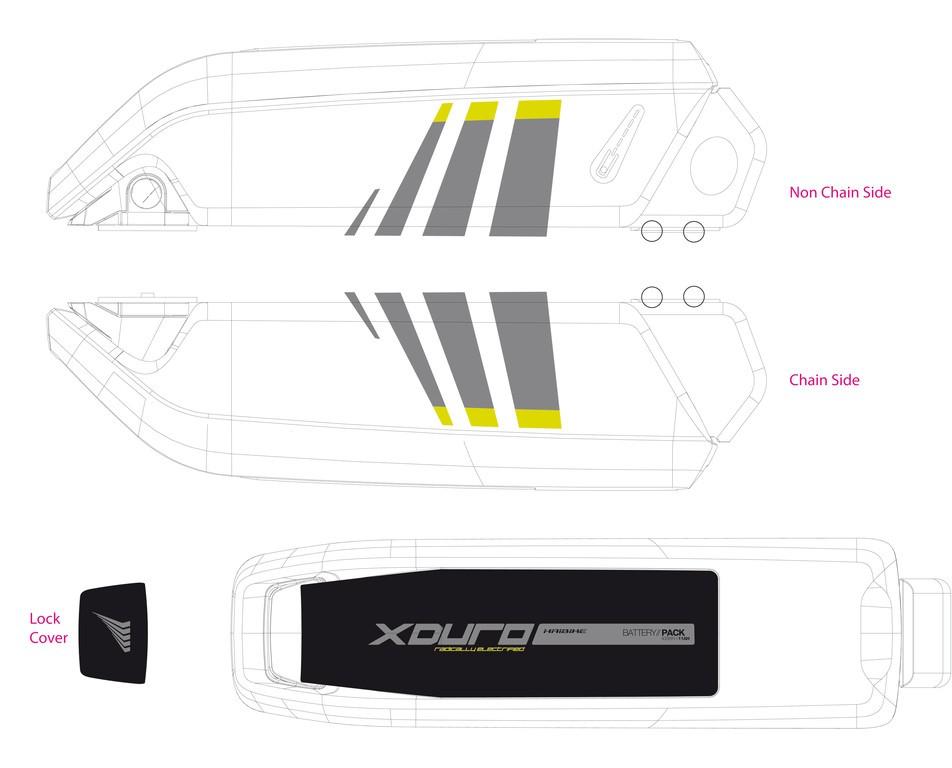 Haibike Xduro pro baterii 2014 vel.Lime
