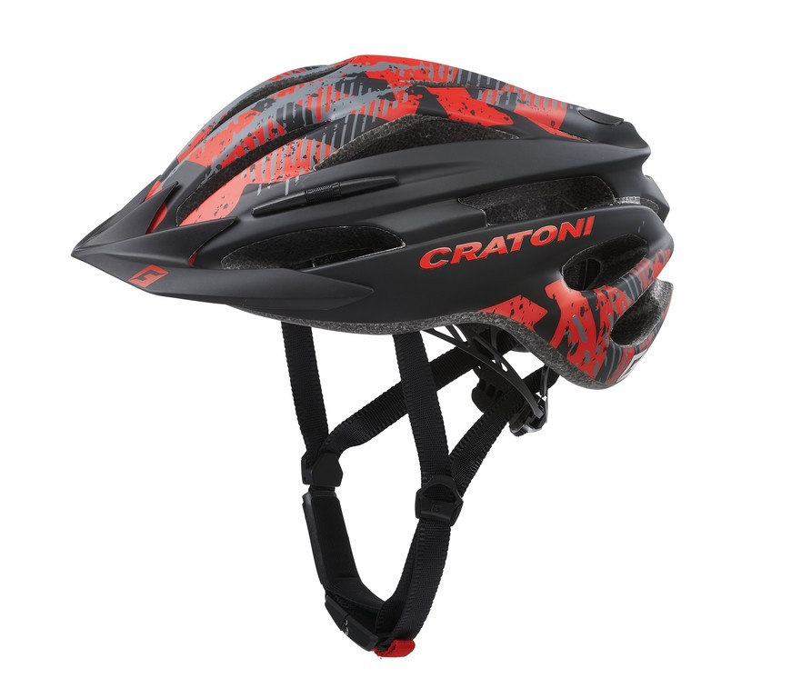 Cratoni Pacer (MTB), Vel. XS/S (49-55cm) cerná/cerven. mat.