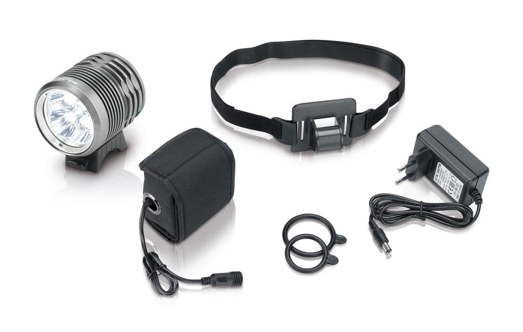 XLC Pro Helmlampe weiß CL-F15 - XLC Pro Helmlampe weiß CL-F15