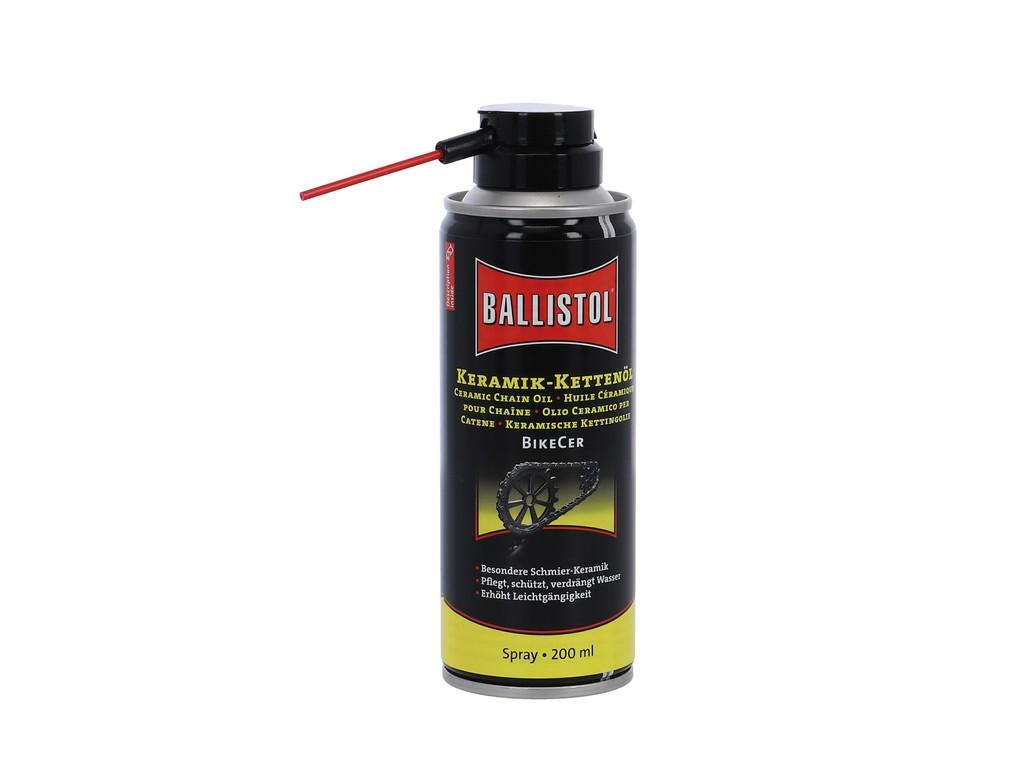 Keramik Olej na retez BikeCer Ballistol, 200ml Sprej (Euro)
