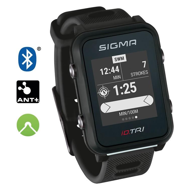 Sport. hodinky Sigma ID Tri Basic cerná