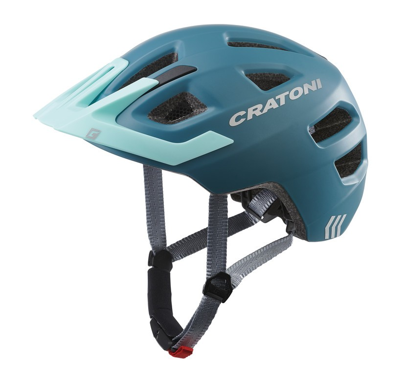Cratoni Maxster Pro (Kid), Vel. XS/S (46-51cm) ocel/modrá mat.
