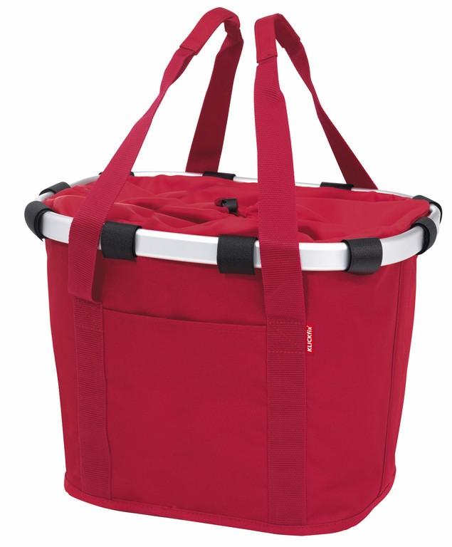City-brašna, Bikebasket cervená, 35x28x26 cmm