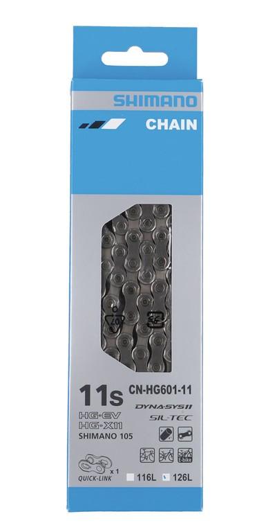 Shimano CN-HG601 Q, 126 článků + spojka
