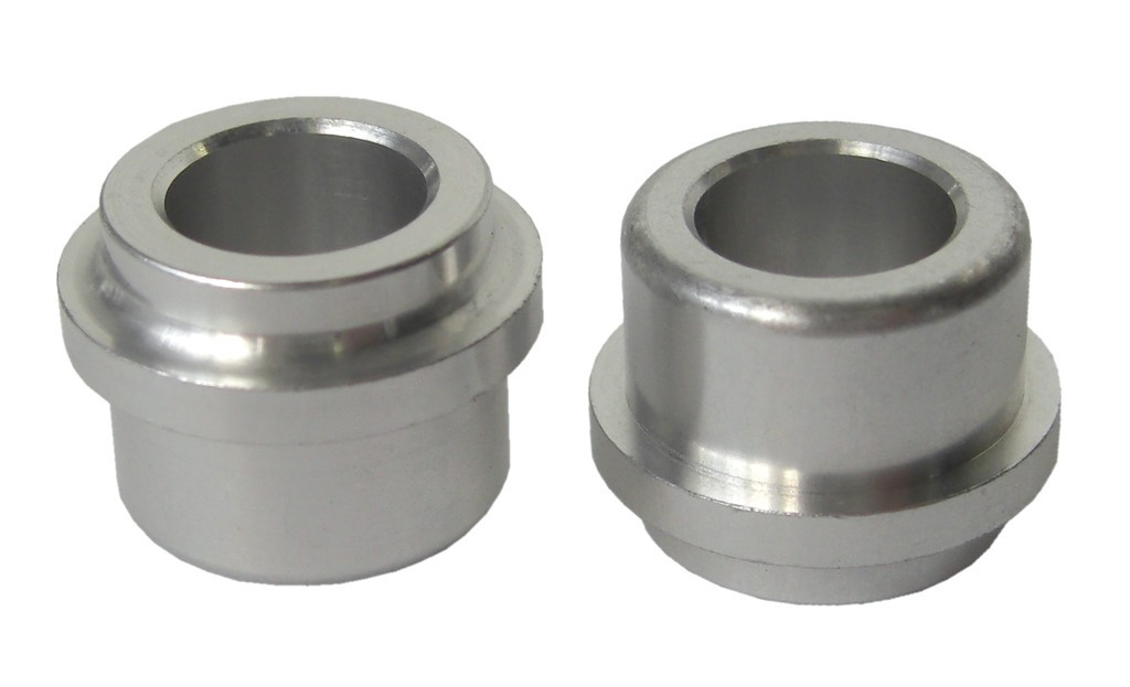 SR pár hliník. objímky tlumice 12,7mm otvor 8mm pro tlouštku 22,2mm