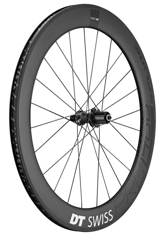 "Z.k.DT Swiss PRC 1400 Spline 65,28""/18mm, Carbon, 130/5mm QR"