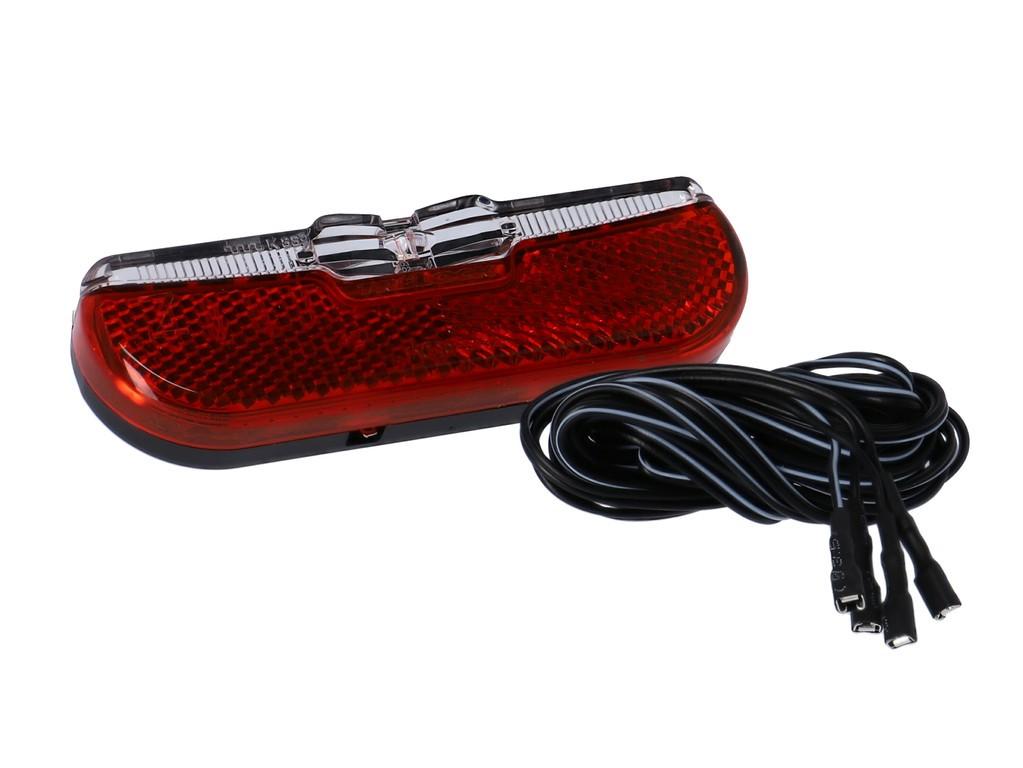 LED-dynamo-zadní svetlo Trelock Duo Flat, LS 611,Duo Flat,6-12V