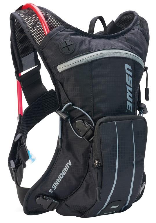 Nápojový ruksak USWE Airborne 3,cerná/šedá