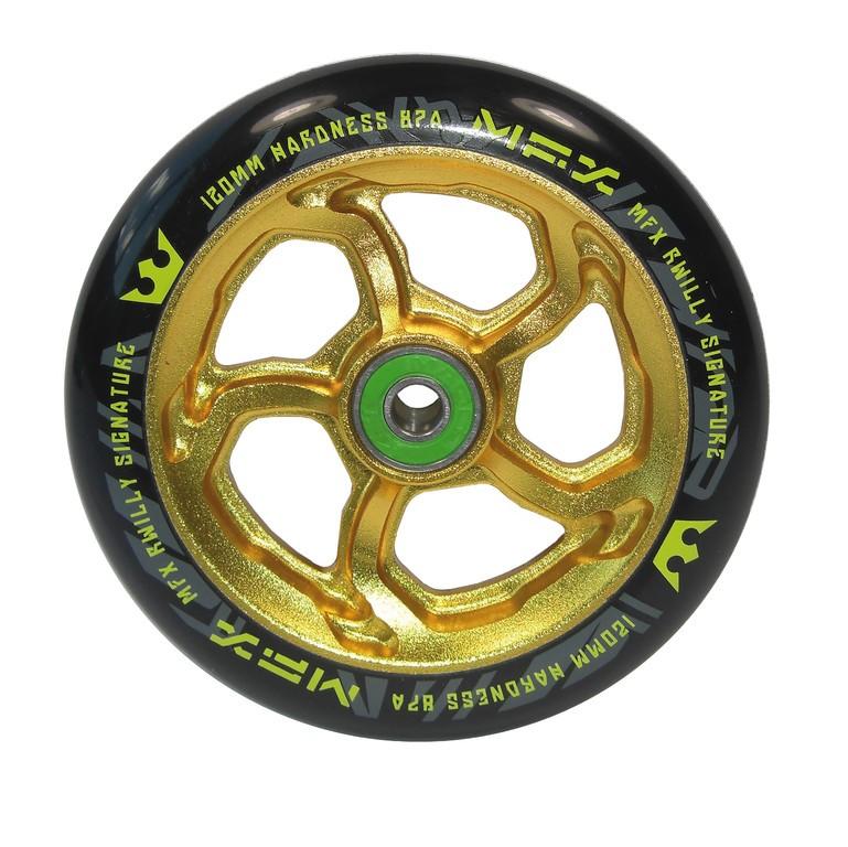 Madd Gear MFX RWilly Signature zlaté 120mm (ks)