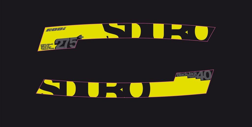 """Haibike Sduro na ráfek 275"""" žlutá/šedá/černá"""