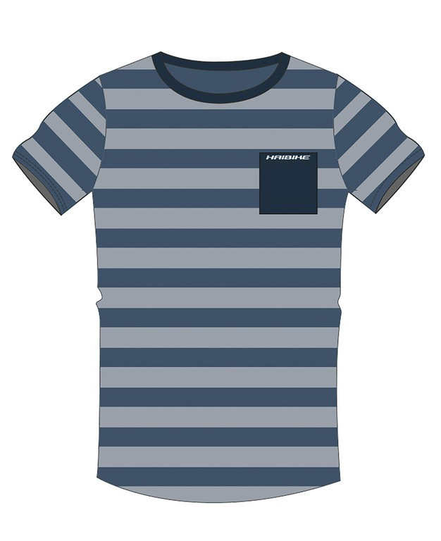 """Tricko Haibike """"LIT"""" - pánské, modrá, velikost S"""