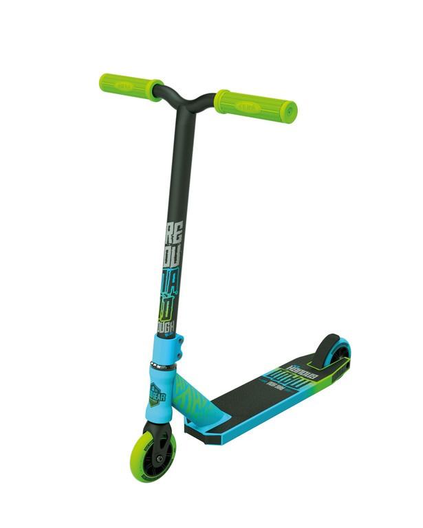 Kolobežka Madd Kick Rascalmodrá/zelená kolec. 100mm