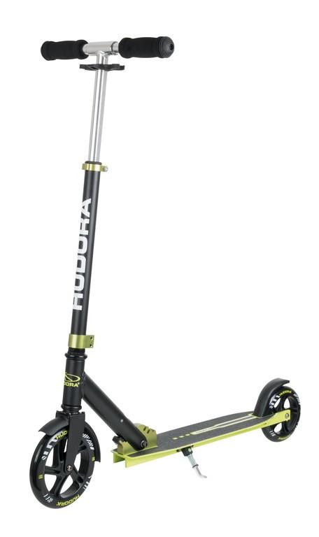 Koloběžka Hudora Bold Wheel L 180/145 zelená/černá