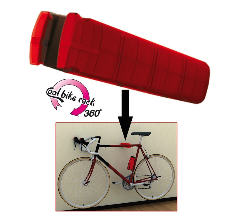 Support mural peruzzo cool bike rack 360 pour 1 v lo - Support mural velo ...