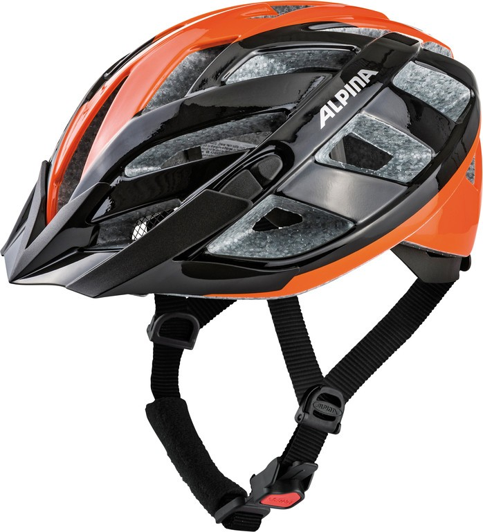 Cyklistická helma Alpina Panoma 2.0, black-orange vel.52-57cm