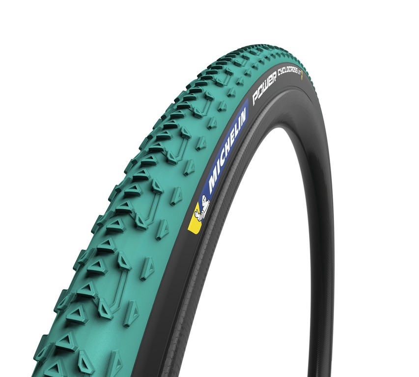 "Michelin Power Cyclocross Jet skl., 28"" 700x33C 33-622 zelená TL-Ready"