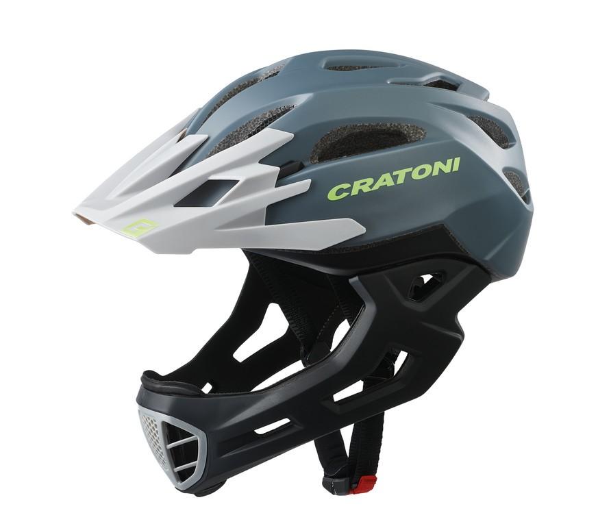 Cratoni C-Maniac (Freeride), Vel. S/M (52-56cm) antracit/cerná mat.