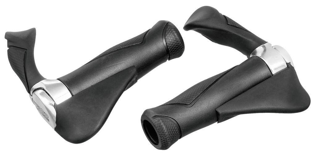 Gripy Ergotec Multi Flex 2, 87 mm, černé