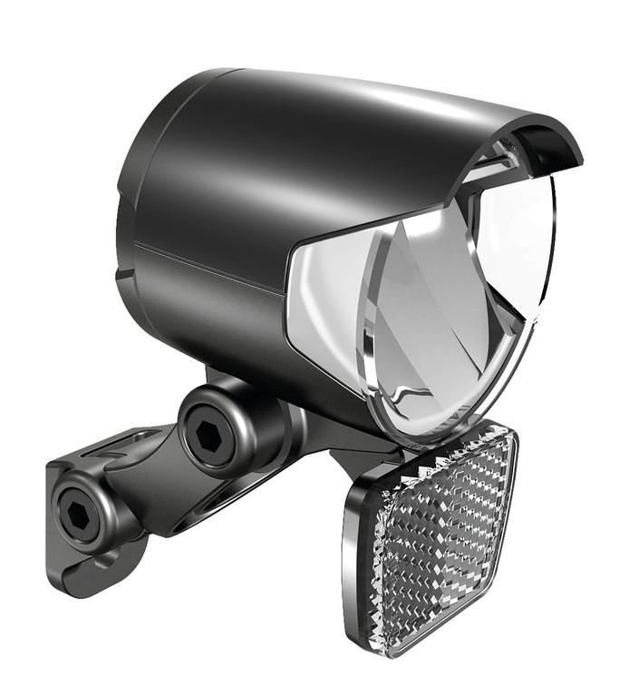 Prední svetlomet Herrmans H-Black MR4 EE-Bike, černá, on
