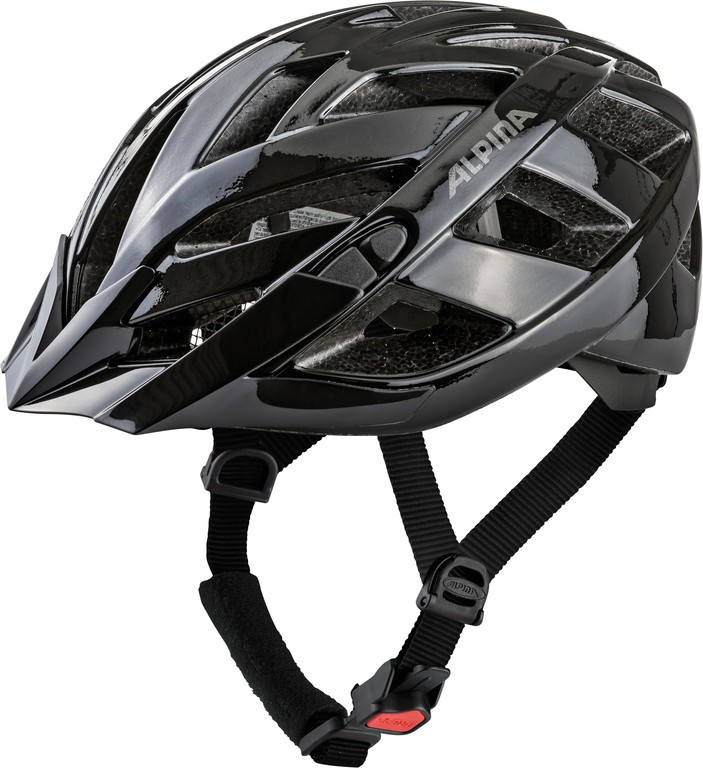 Cyklistická helma Alpina Panoma Classic, cerná vel.52-57
