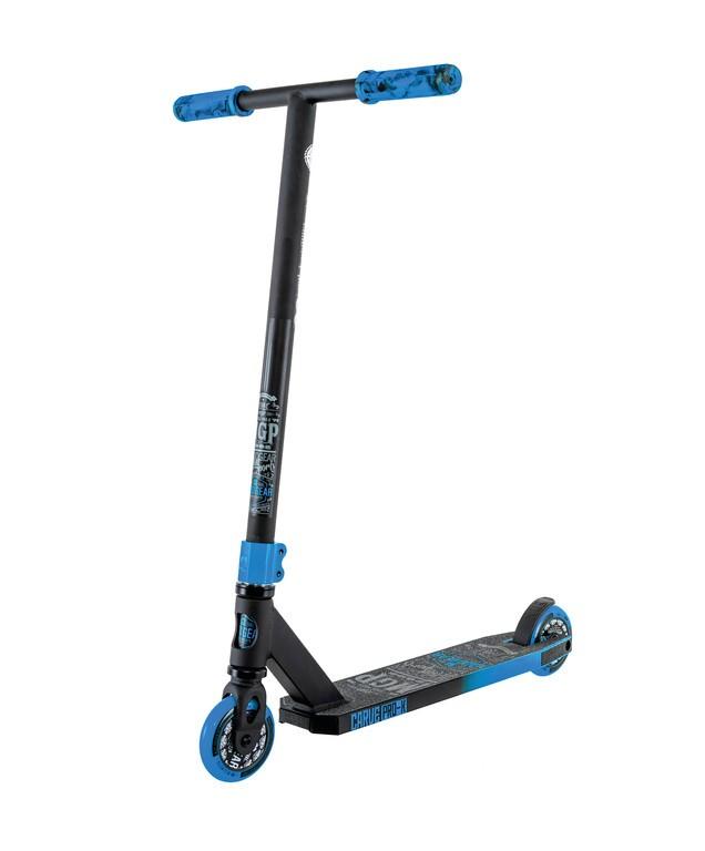 Kolobežka Madd Carve Pro-Xcerná/modrá kolec.100mm