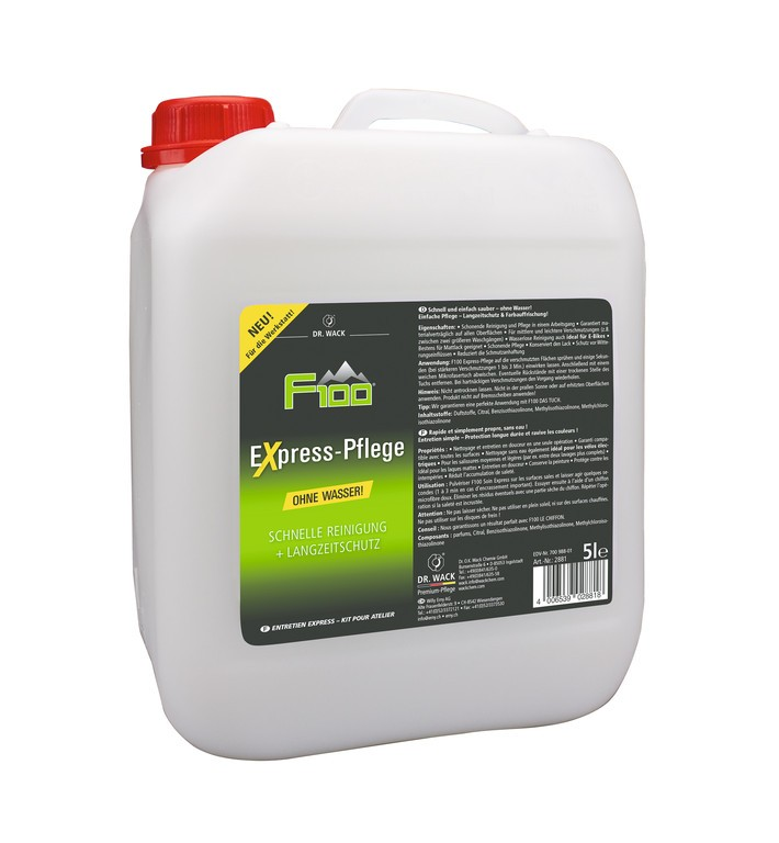 F100 Express-Pflege 5l + příslušenství