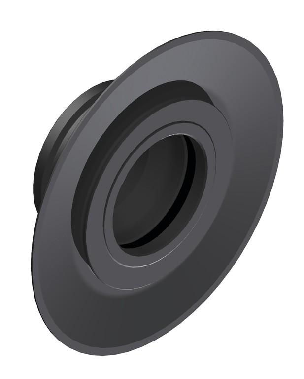 Pr.k.-adaptér DT Swiss 12 mm TA DB Aero, pravé,crn, Press fit  HWAXXX00S7910S