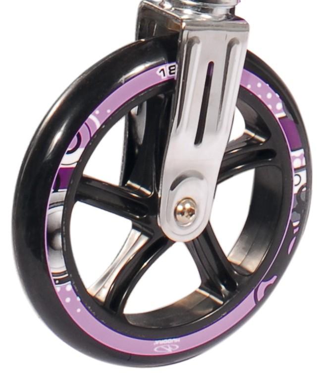 Kolečko Hudora Big Wheel Bold 180 mm lila/černá mod.14746