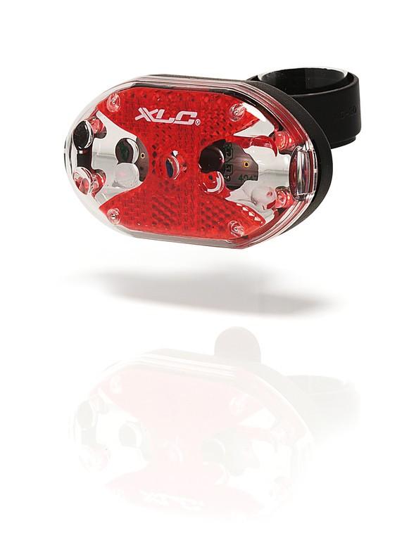 Světlo na kolo zadní XLC Thebe 5X červená LED