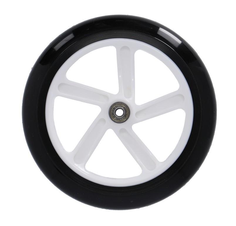 Kolečko Hudora Big Wheel 205 mm černé/zelené/modré mod.14750