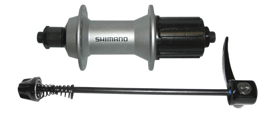 Náboj zad.kola Shimano Alivio FH-T 4000135mm,36 der,stríbrná,8/9/10-st,rychloup