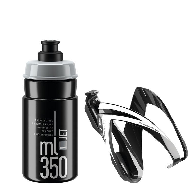 Elite Kit Ceo 350 ml černá/bílá/šedá