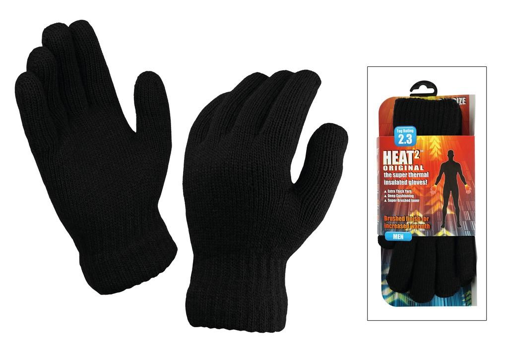 Heat² Original Gloves Men černé (uni)
