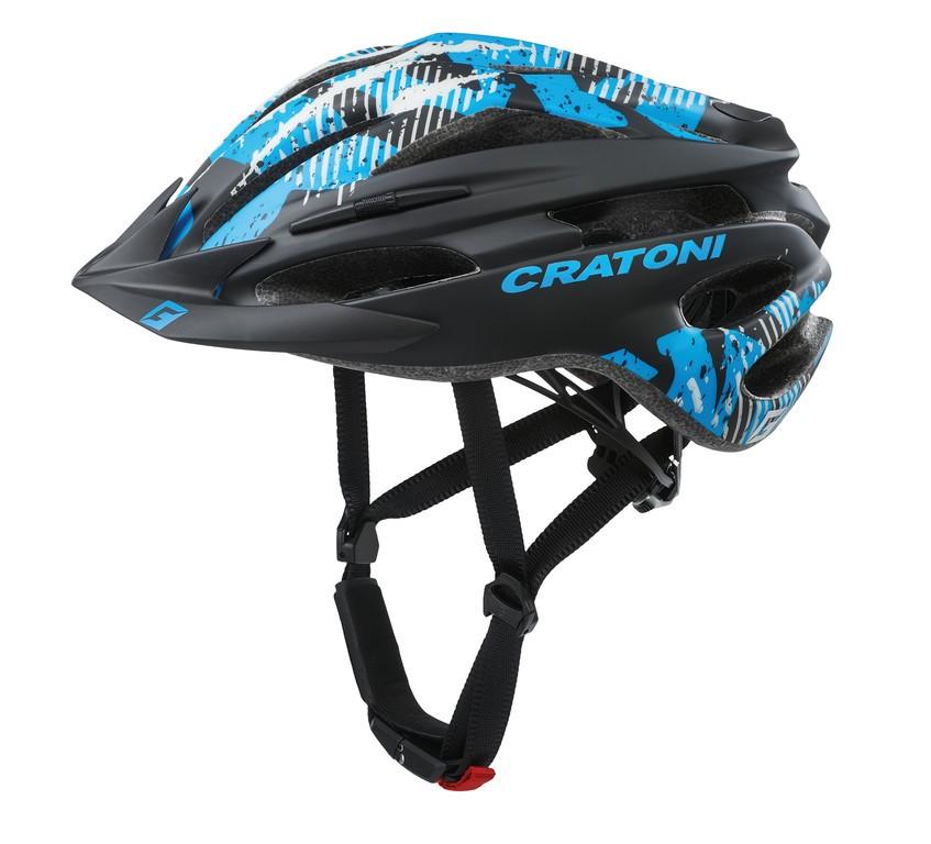 Cratoni Pacer (MTB), Vel. XS/S (49-55cm) cerná/modrá mat.