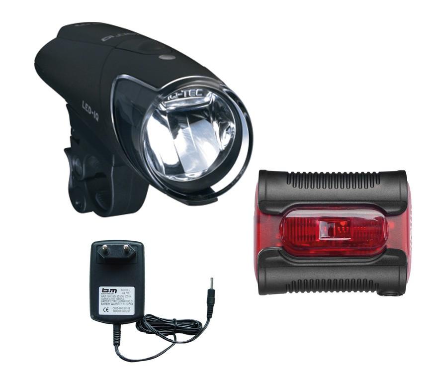 LED-Akkuscheinw. Set b&m Ixon IQ Premium - LED-Akkuscheinw. Set b&m Ixon IQ Premium
